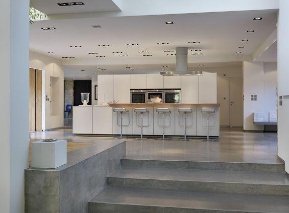 Courtyard house bulthaup kitchen by kitchen architecture bulthaup