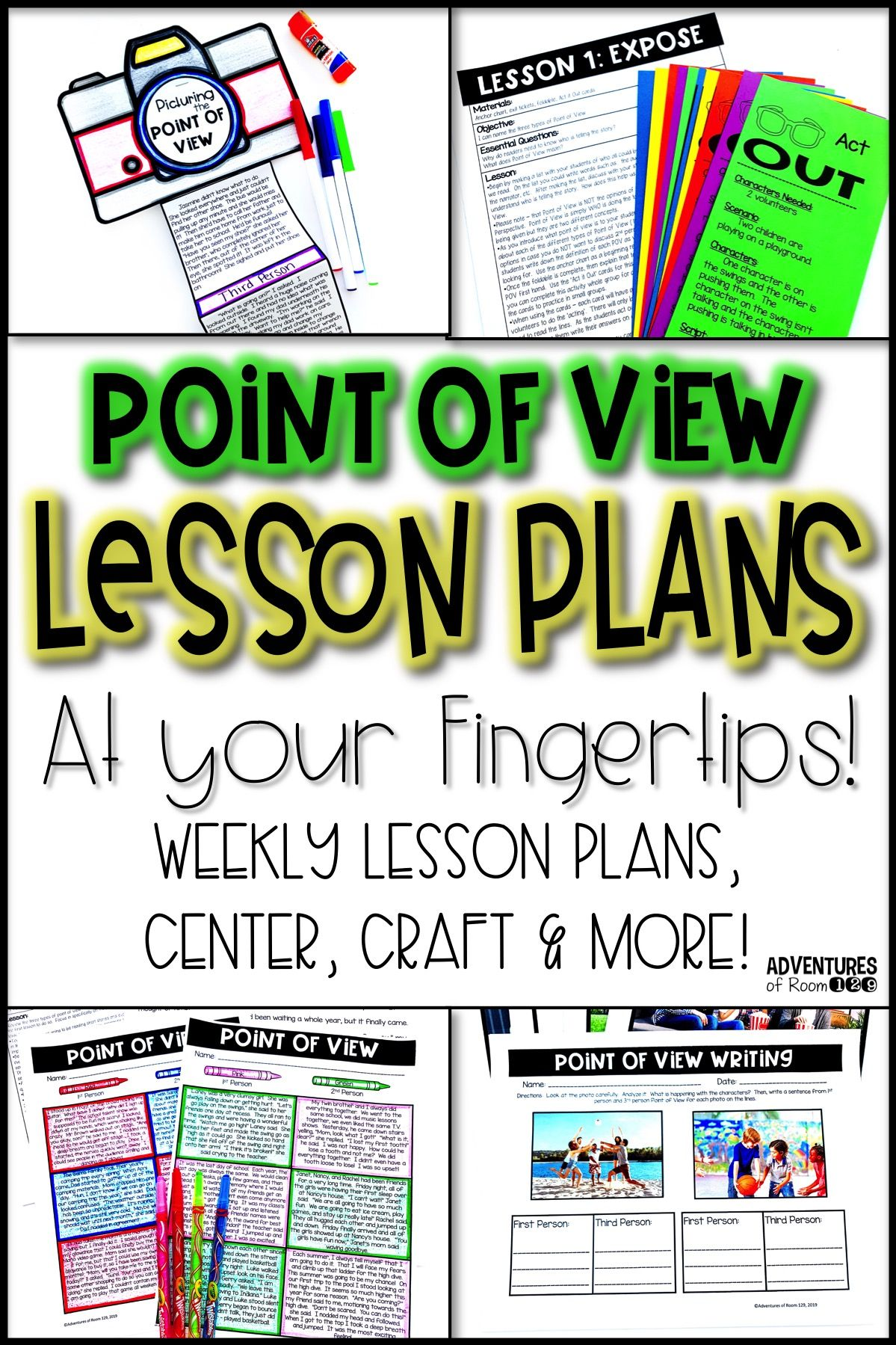 Point Of View Printables