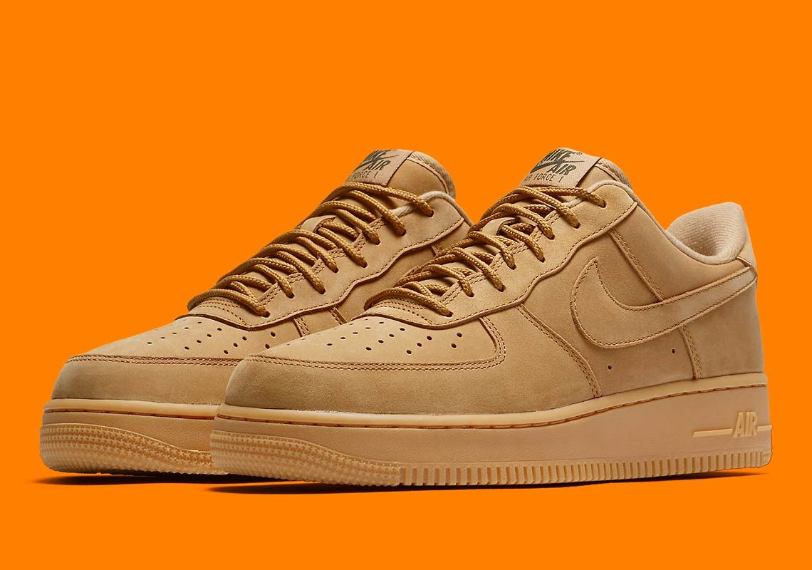 Now Available: Nike Air Force 1 Low Flax •