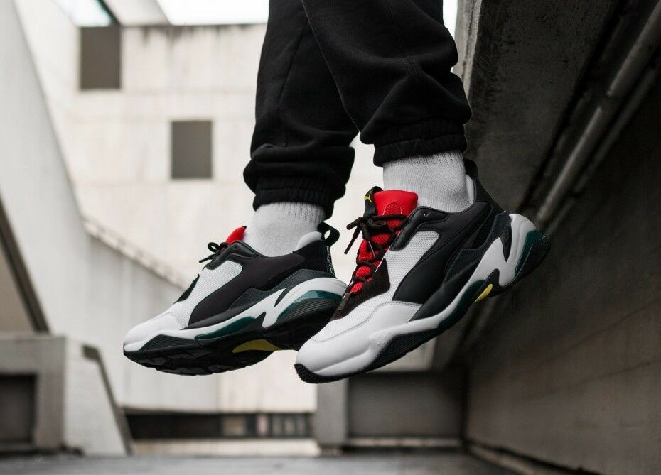 Puma Thunder Spectra WhiteBlackRed $90 Shipped on eBay