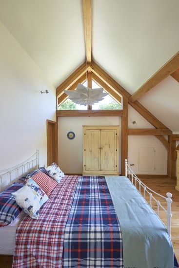 Vaulted Ceiling Bedroom With Dormer Windows To Let The Light Flood In Nominated For Best Oak