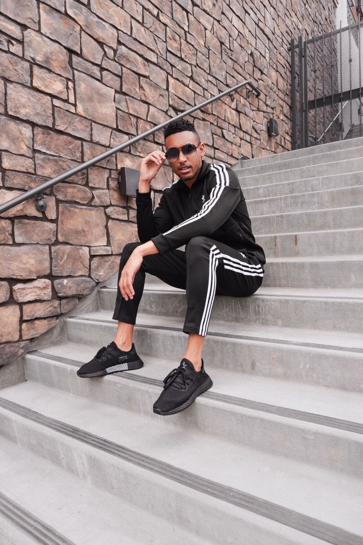 Mens Fashion Mens Adidas Tracksuit Allenrobateau In 2019