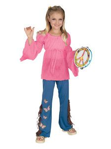 Hippies Clothing in the 60s | Woodstock Child Feelinu0027 Groovy 60s Hippie Child Costume |  sc 1 st  Pinterest & Hippies Clothing in the 60s | Woodstock Child Feelinu0027 Groovy 60s ...