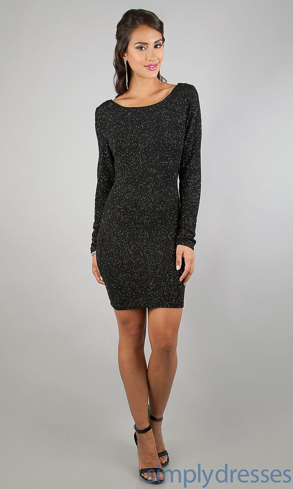 peaceful long sleeve lace tunic dress- black | Closet WISHlist ...