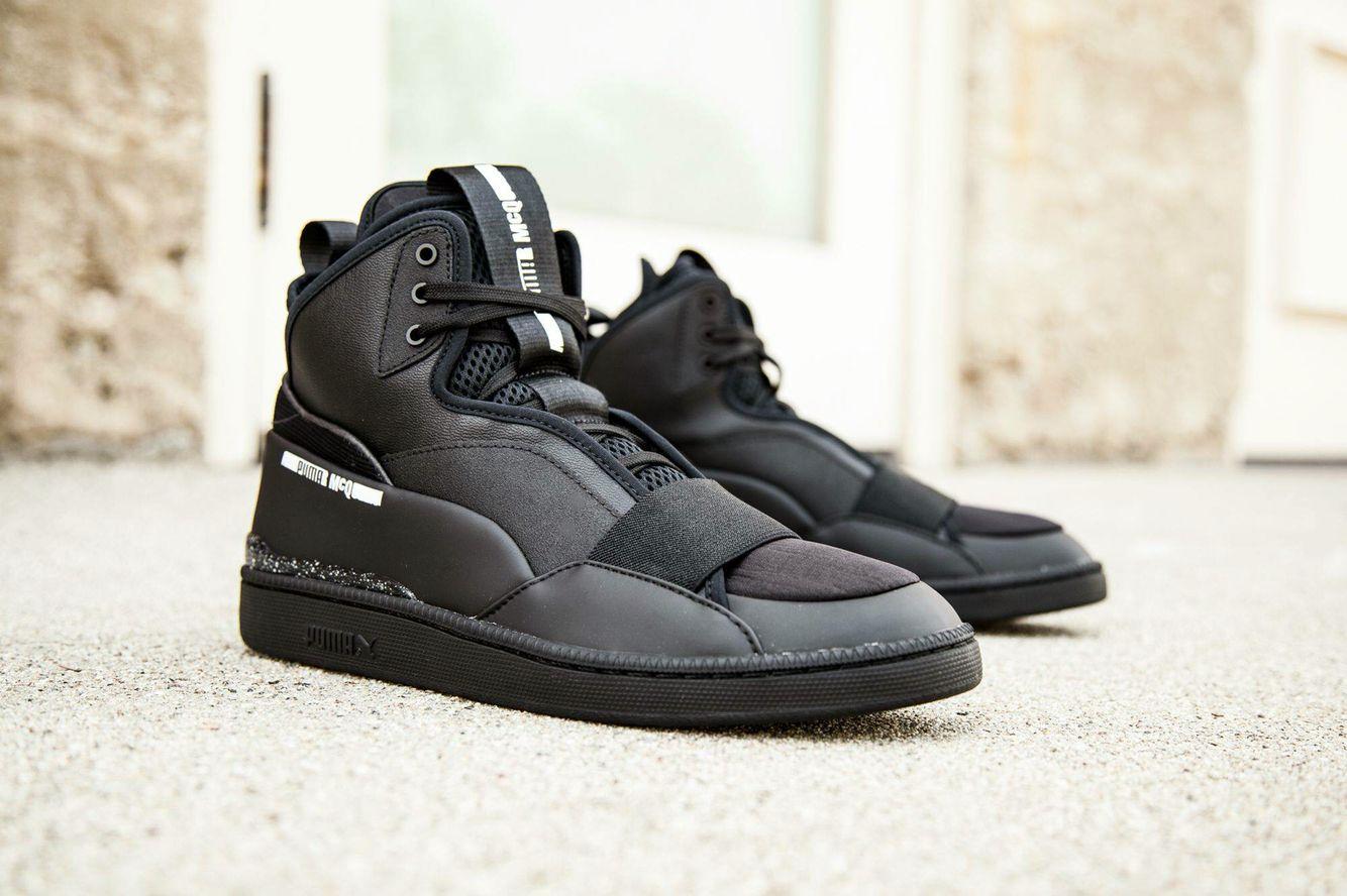 Puma McQ Brace Mid: Black | Sneakers