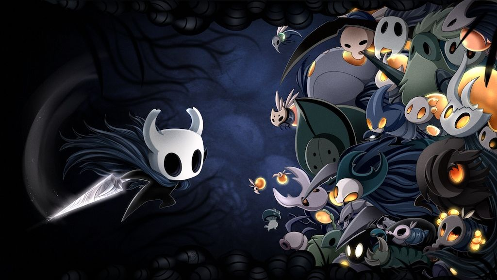Steam Community Hollow Knight A Wallpaper I Did For Myself Hollow Art Android Wallpaper Knight Floating city island live wallpaper.