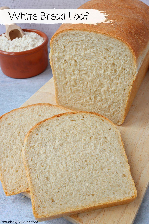 White Bread Loaf Recipe Bread Loaf Bread White Bread