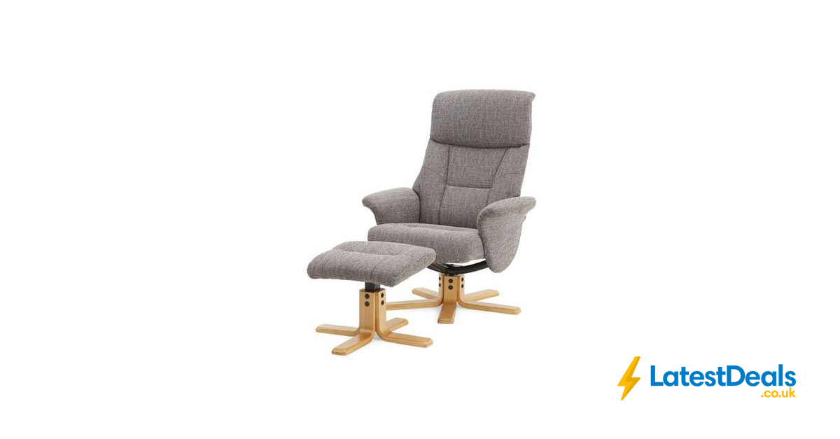 Incredible Whitham Swivel Recliner Chair Footstool Grey 183 20 At Gamerscity Chair Design For Home Gamerscityorg