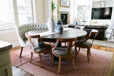 Settee For Dining Room Table images