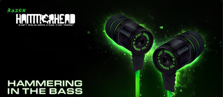 Ready Stock! Razer Hammerhead – Analog Music & Gaming In-Ear Headphones Harga: Rp 780.000,- (PM Us For Best Price)  Order: DEXT-Online PC store www.dextmall.com Line: dennisx / dextech2 Pin BB: 23130092 / 2967894C