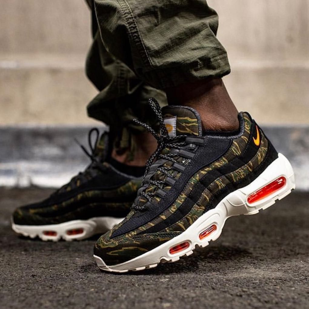 1⃣8⃣ @carharttwip x Nike Air Max 95's , worn by
