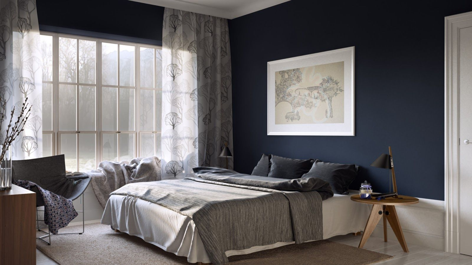 dark blue gray bedroom best 25+ blue and grey bedding ideas on