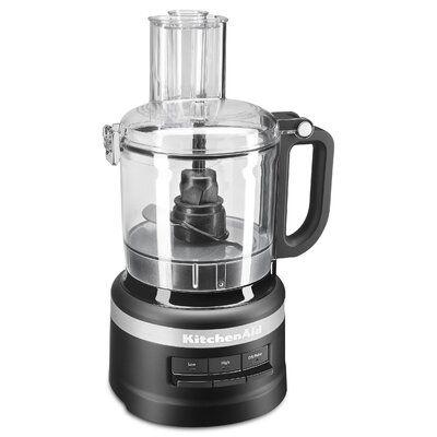 Kitchenaid Kitchenaid 7 Cup Food Processor Kfp0718 Color Black