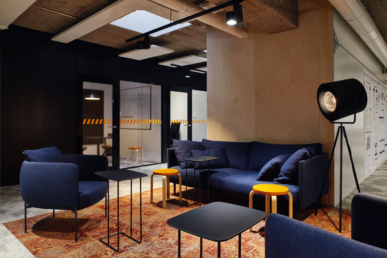 A Tech Company in Helsinki Upgrades to a New, Fun Office Space ...
