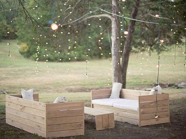 Faire un salon de jardin en palette   Pallets and Pergolas