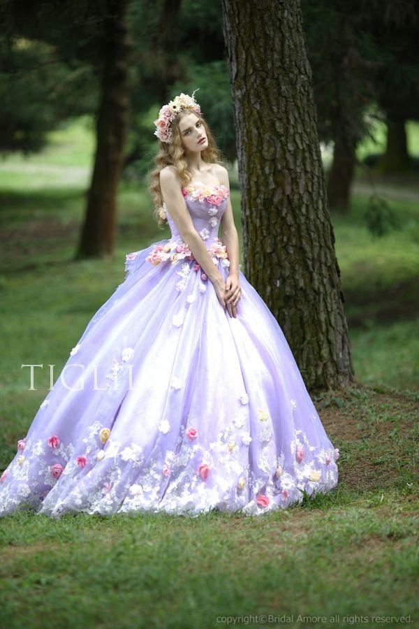 5759b4411a2e6  楽天市場 ウェディングドレス_ウエディングドレス_カラードレス_花ドレス(c116p)TIGLILY:ブライダルアモーレ