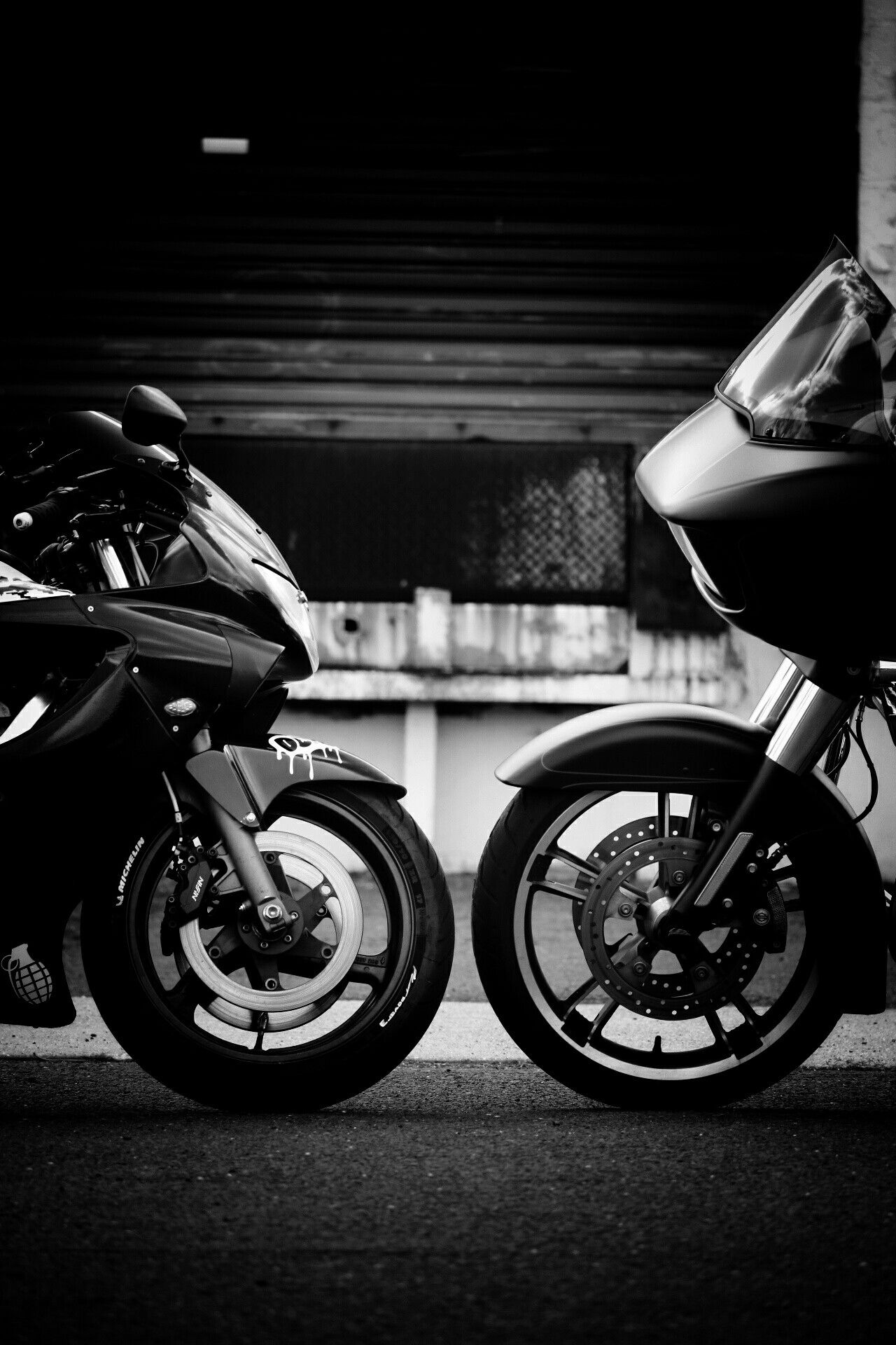 Honda vs harley