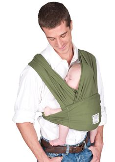 d2ccbfa8864 The Baby K tan Baby Carrier is an innovative soft cotton baby carrier that  is an ideal blend of a sling