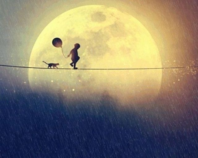 Full moon!! *O*
