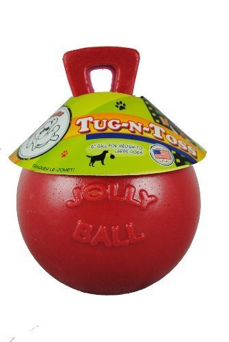 Jolly Pets Push N Play Puncture Proof Jolly Ball Bd Luxe Dogs