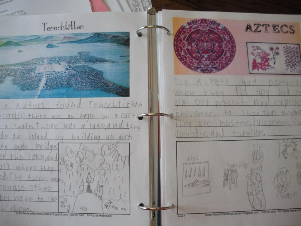 Free Premade American History Notebook Pages