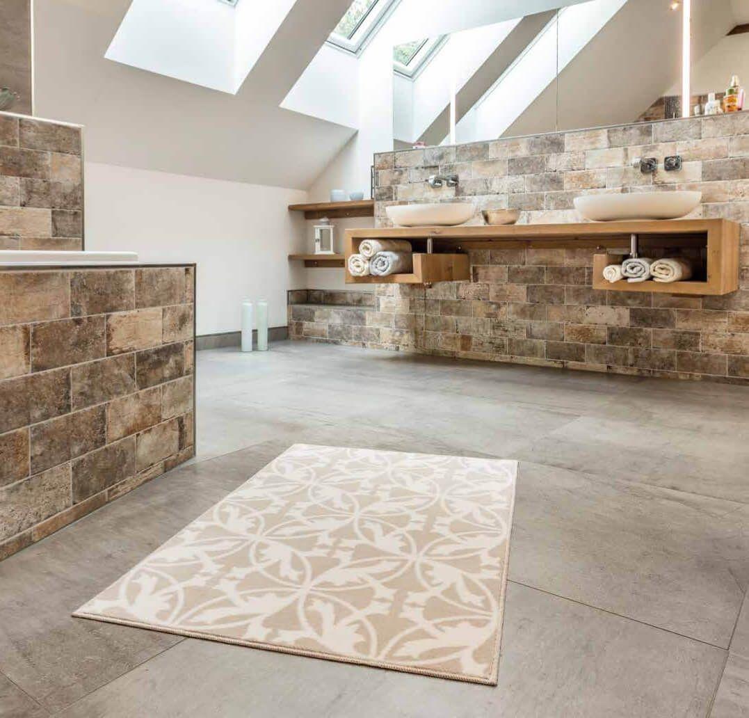 Badteppich Mit Motiv Mauro In 2020 Badteppich Badezimmerteppich Badezimmermatte