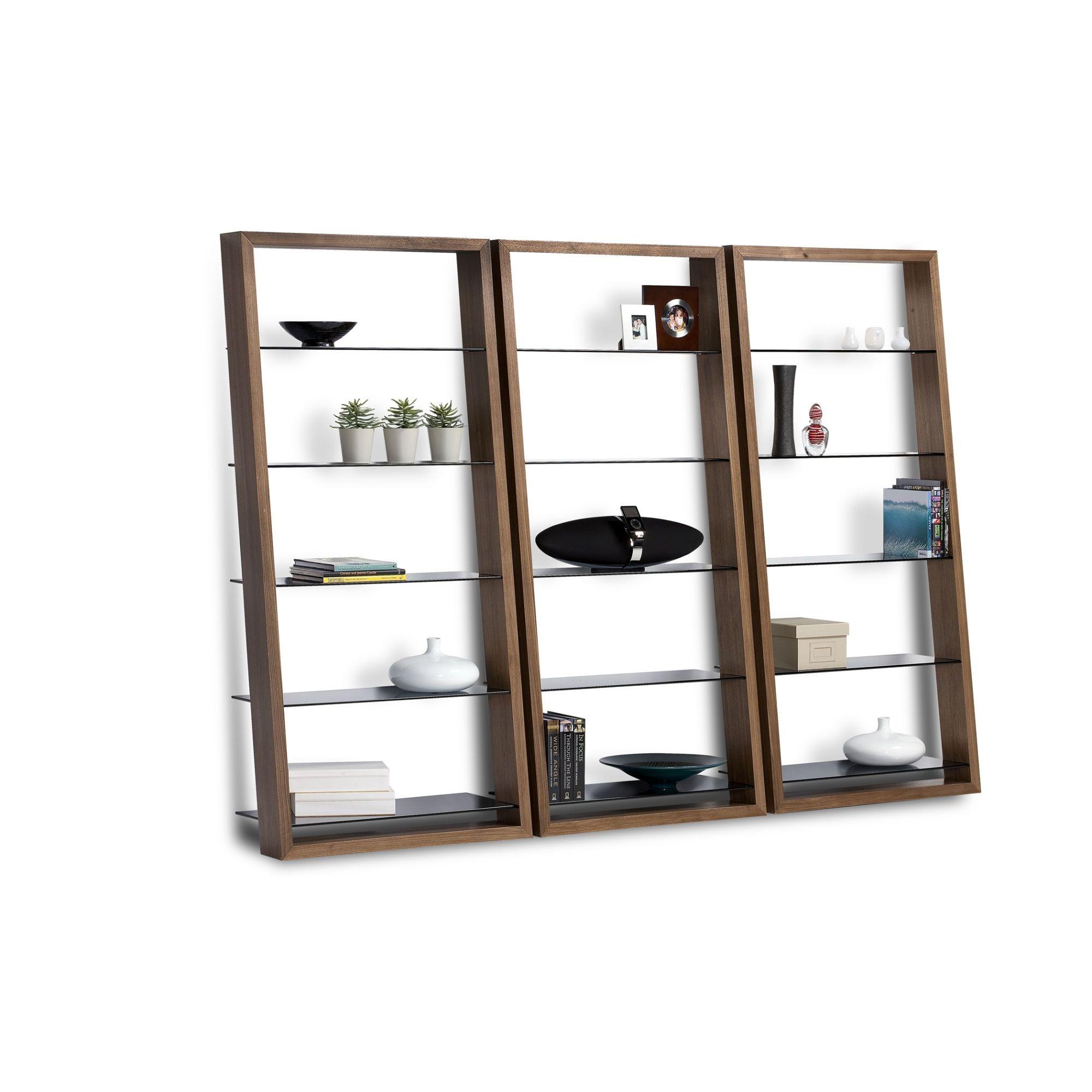 Eileen ladder bookcase leaning shelves shelves and shelving