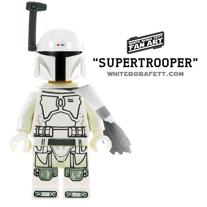 A Digital Simulation Of What A Supertrooper Version Of A Lego Star