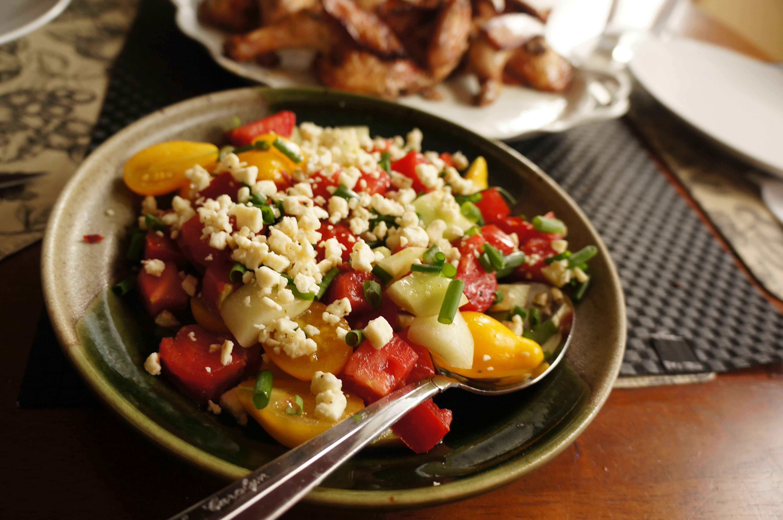 Yummy Salad for dinner