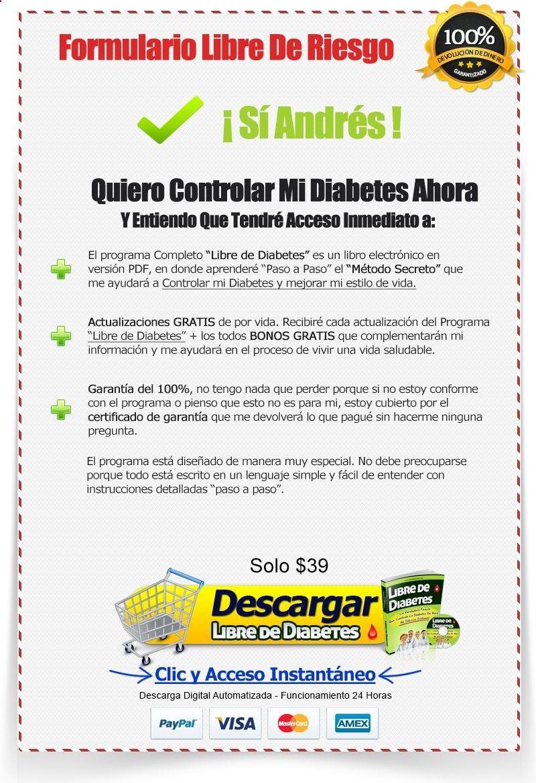 vivir saludable con diabetes pdfs