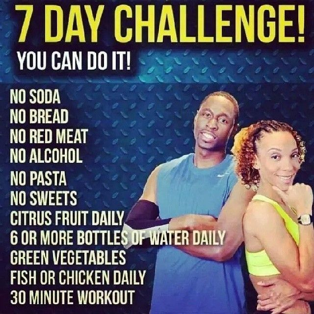Healthy Journey Continues June 2014 7 Day Challenge Lose 15 Pounds Get In Shape