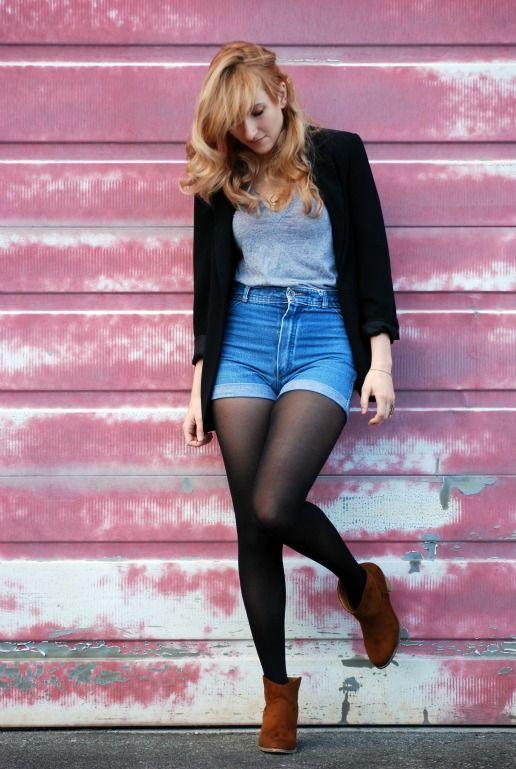651dadc28b6 high-waist jean short with leggings - must do!
