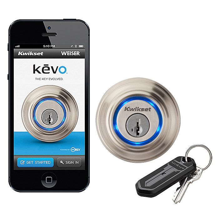 Kevo Bluetooth Electronic Lock With Kevo Your Smartphone