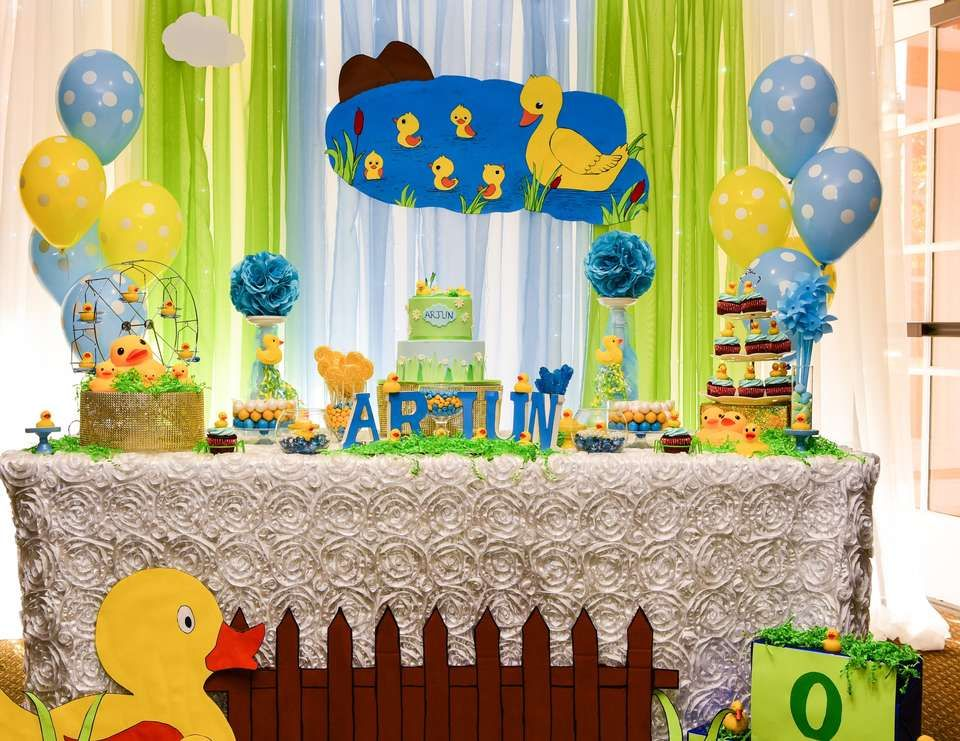 Arjuns First Birthday Party Themes Baby