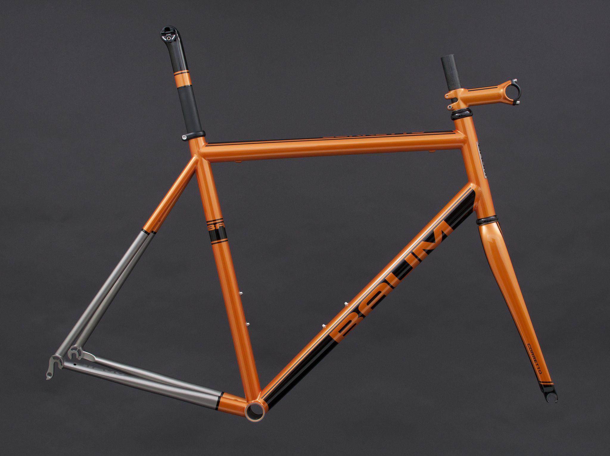 Gts Burnt Orange Black Metalic Corretto Bike Design Bike