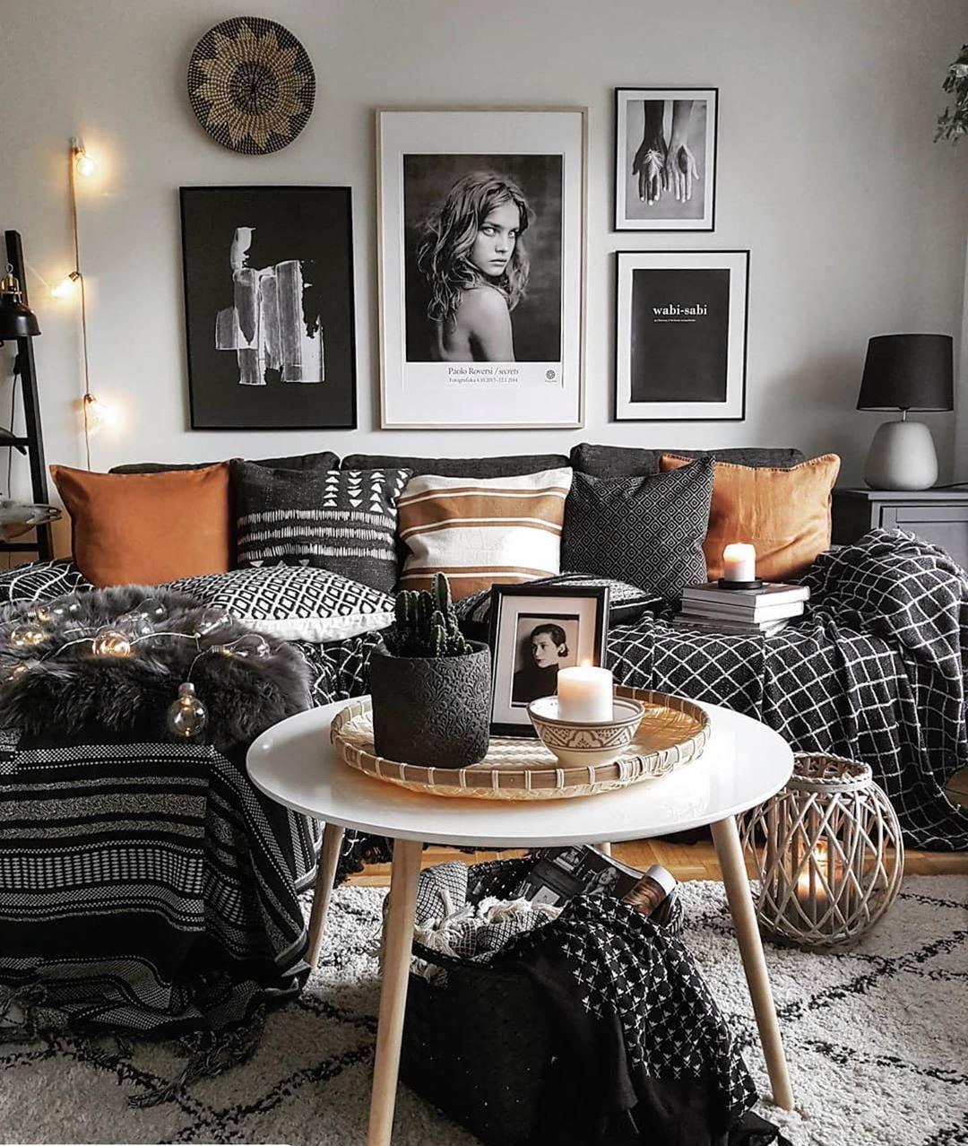 26 gorgeous grey living room ideas   living room grey, living room designs, boho living room