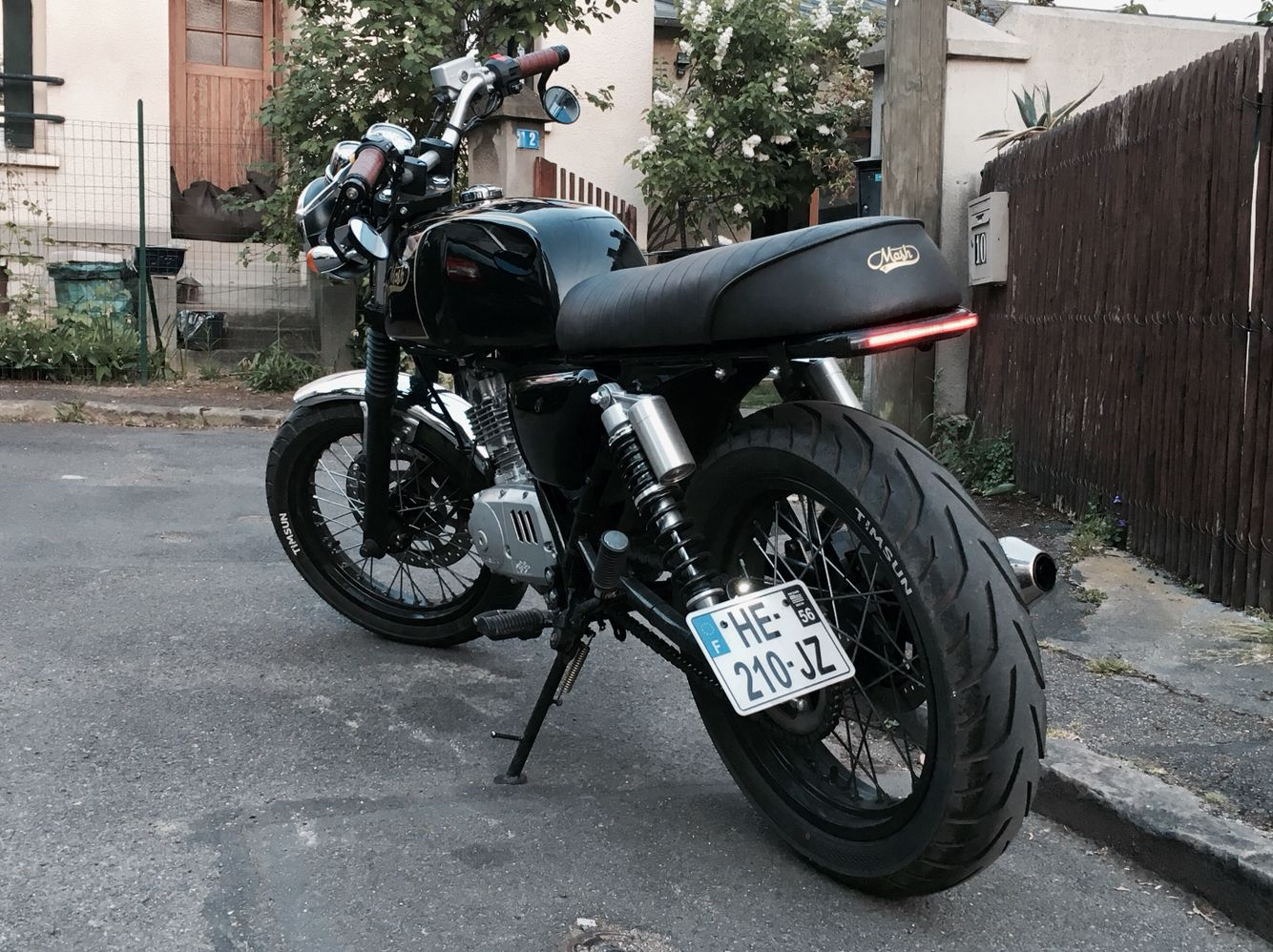 Mash Black Seven 125 Custom Brat Cafe Racer Zesey Projects