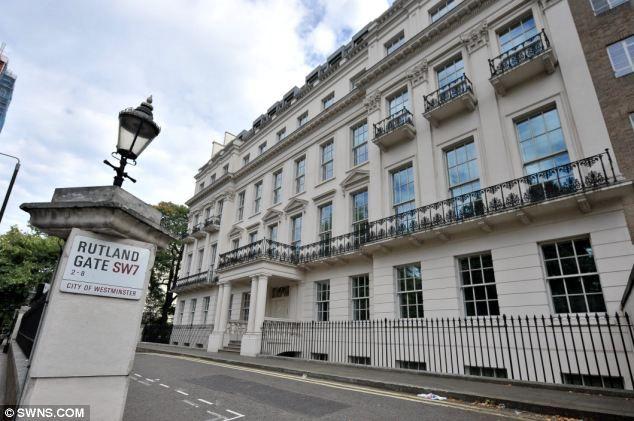 45 Bedrooms Seven Storeys Overlooking Hyde Park London 300million Super Mansion Mega Mansions Mansions London