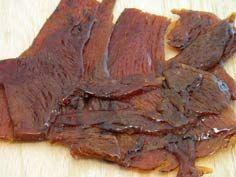 Low Sodium & Carb. Beef Jerky Recipe