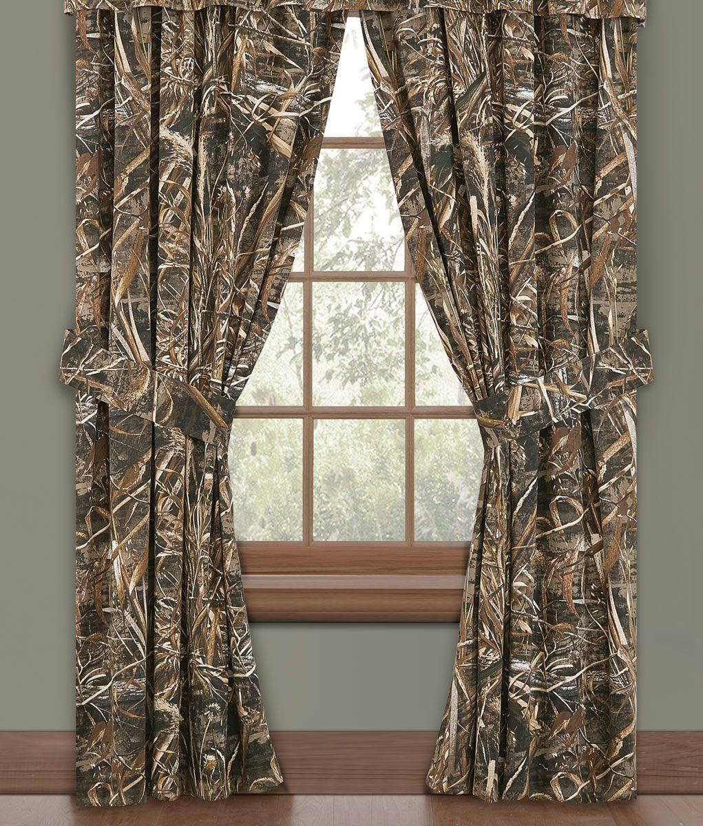 4 window curtain ideas  max  camo window curtains  realtagfo  pinterest