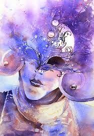 Venetian Mask Watercolour Google Search Art Watercolor