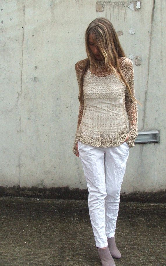 7cefe7cebe34 Summer Lovin cotton loose knit open weave iLE AiYE by ileaiye ...