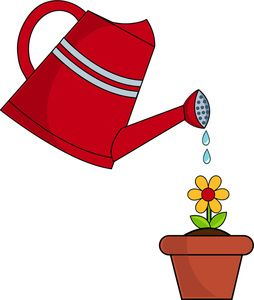 83 Awesome Watering Can With Flowers Clipart Clip Art Art Wallpaper Flower Clipart