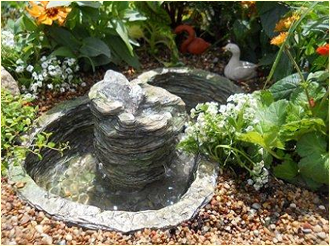 Large Waterfall With Pond And Pump For Fairy Garden Large Fairy Garden Miniature Garden Fairy Garden Supplies
