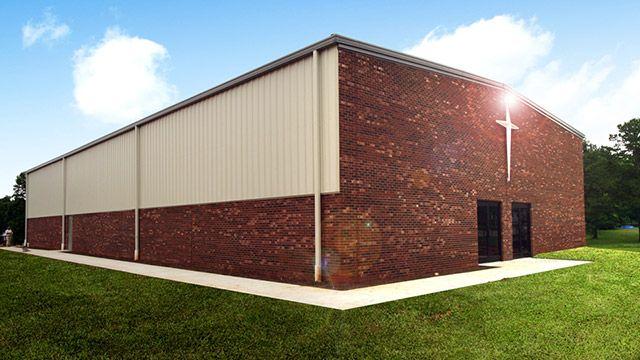 Institutional Steel Buildings, Metal Church Buildings