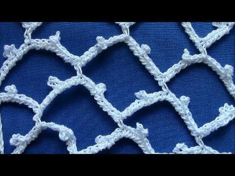 Irish Crochet Basics, Venetian Ground - https://www.youtube.com ...