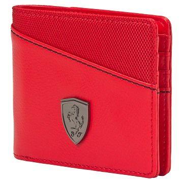 adb744c0553f78 Discover ideas about Puma Mens. Puma Mens Ferrari Red Leather Wallet ...