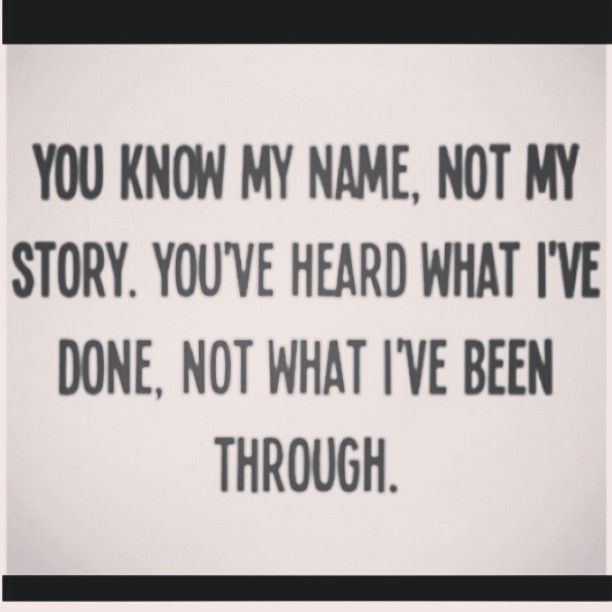 #true You Don't Know My #struggle So You Can't Feel My
