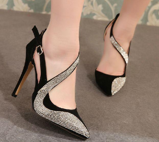 81bad25d990f25 Latest and fashionable pencil heel for modern girls - Sari Info ...