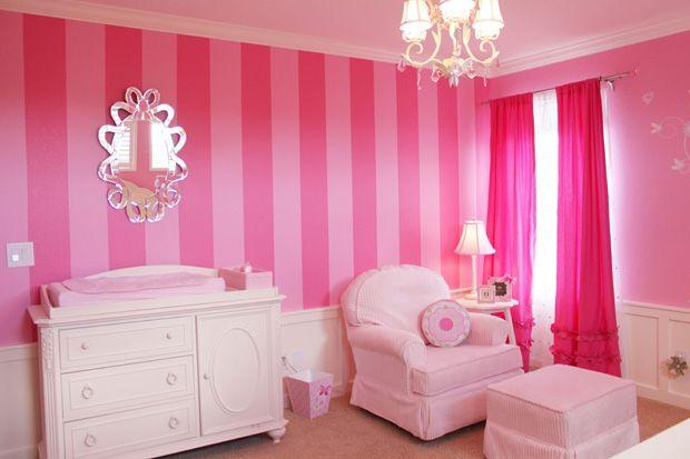 Pin de andrea perez wastenes en pink pinterest for Cuartos para ninas pequenos